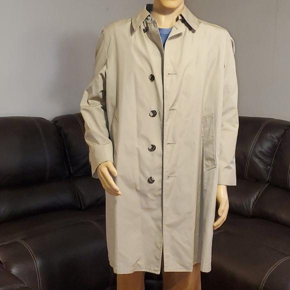 Men's London fog maincoats coat size 38 regular
